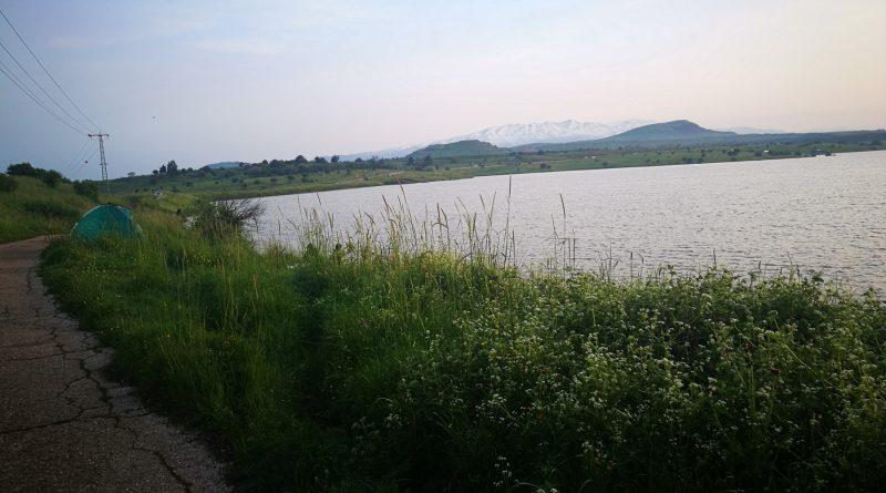 1. Озеро Бенталь. Голаны. Израиль Апрель 2019