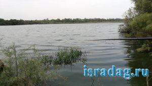 3. Бесплатное место для рыбалки на пресной воде в центре Израиля