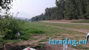 Дикое место на реке Иордан в Израиле - 3