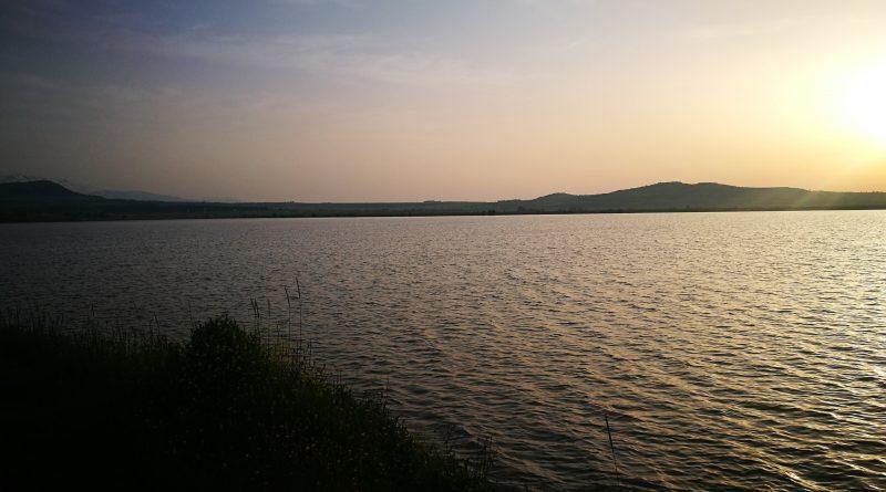 5. Восход над озером Бенталь. Голаны. Израиль. Апрель 2019
