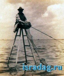 6. 300 лет назад японские рыбаки ловили силлага сидя на трехметровом стуле
