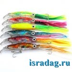 7. Разноцветные пластиково-силиконовые октопусы с подсветкой