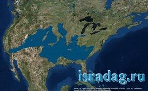 Фотография Средиземного моря с космоса