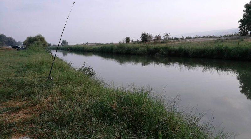 Израиль. Сентябрь 2017. Река Иордан вниз по течению от моста ахамиша - гешер ахамиша