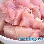 Кусочки куриного филе